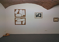 Mario De Brabandere in Siena, Galeria Fuoricampo